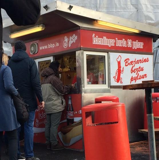 Best Hot Dogs in Reykjavik