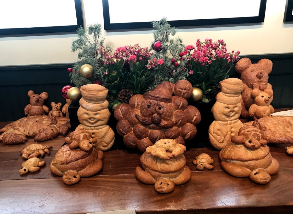 Bread at Boudin Bakery