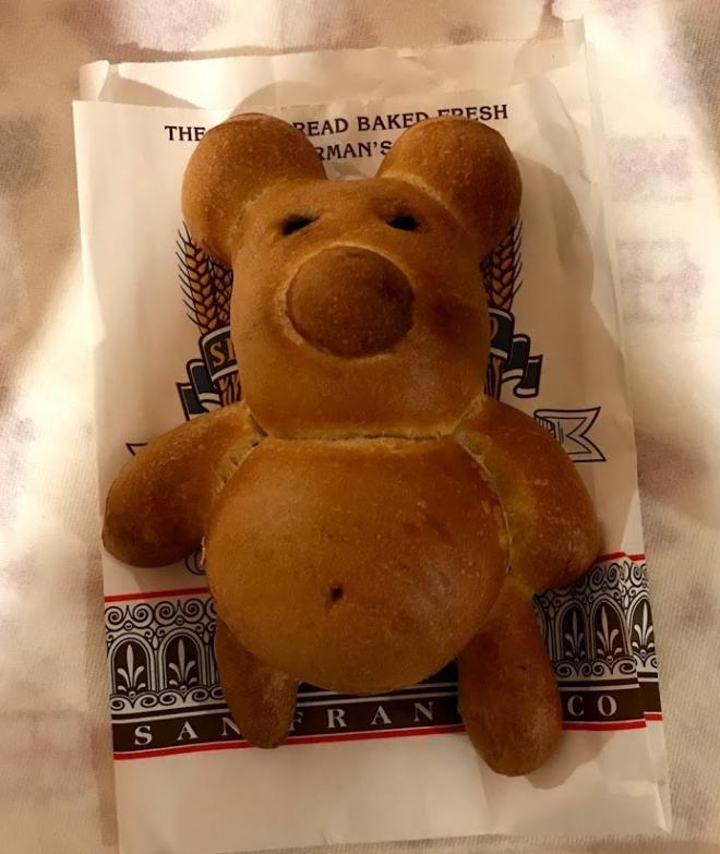 sourdough bear bread