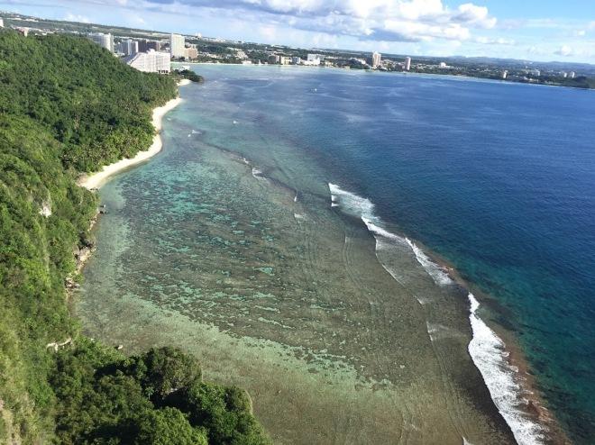 Ocean View of Guam