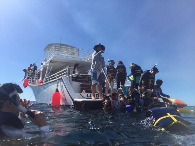 Snorkeling in Guam